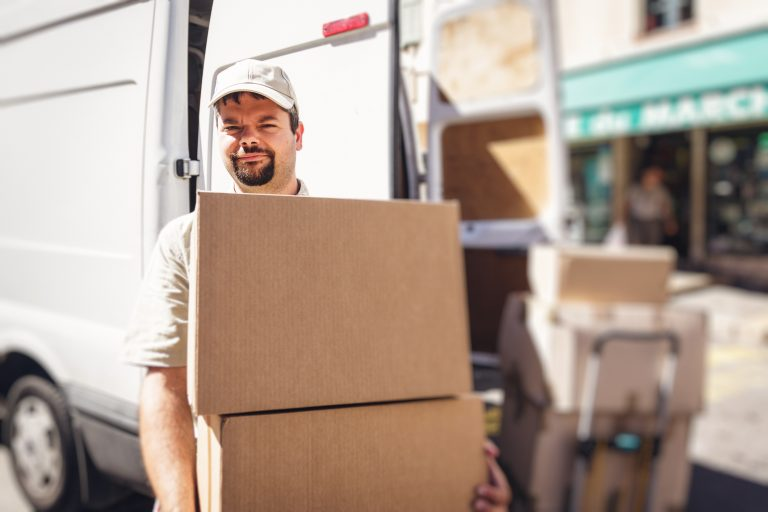 Liability insurance for couriers